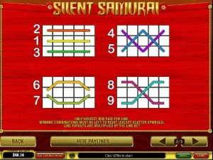 silent samurai spiele